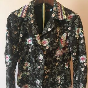 Johnny Was embroidered jacket